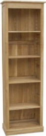 BROOKLYN OAK ALCOVE BOOKCASE