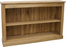 BROOKLYN OAK LOW BOOKCASE