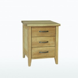 Windsor Large Bedside table with 3 drawers by Telnita.