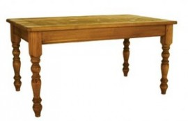 Redwood Farmhouse Table 5' X 3'