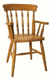 Spindle Beech Carver Dining Chair