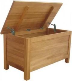 Modern Classic Oak Blanket Box