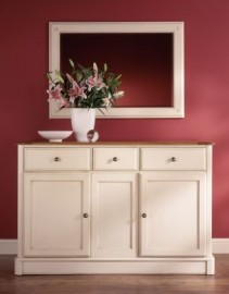 Sailsbury Sideboard & Mirror By Telnita