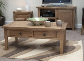 Rustic Oak 3' x 2' Coffee Table