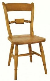 Bar-back Beech Dining Chair