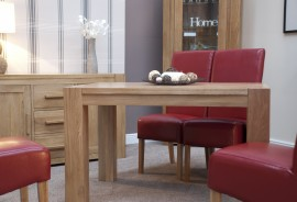 TREND LIFESTYLE OAK SMALL DINING TABLE
