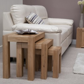 TREND LIFESTYLE OAK NEST OF TABLES