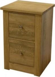 Torino 2 Door Oak Filing Cabinet