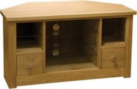 Torino Oak Corner TV Unit