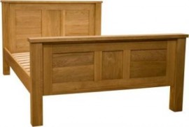 Torino King-Size Oak Bed