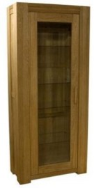 TREND LIFESTYLE OAK 1 DOOR BOOKCASE