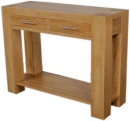 TREND LIFESTYLE OAK CONSOLE TABLE