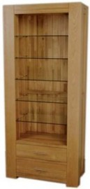 TREND LIFESTYLE OAK TALL BOOKCASE