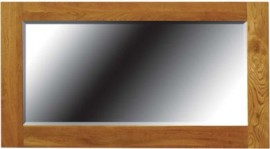 TIMELESS SMALL OAK MIRROR