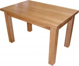TIMELESS LARGE OAK DINING TABLE