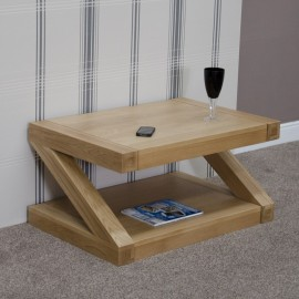 Z Oak Designer 3 x 2 COFFEE TABLE