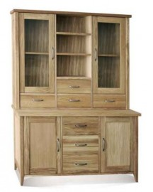 Windsor sideboard top with glass doors by Telnita